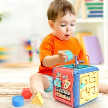 6-Sided Cube Music InstumentsEarly Educational Toy Multifunctional Kids Toys Activity Infant Develop