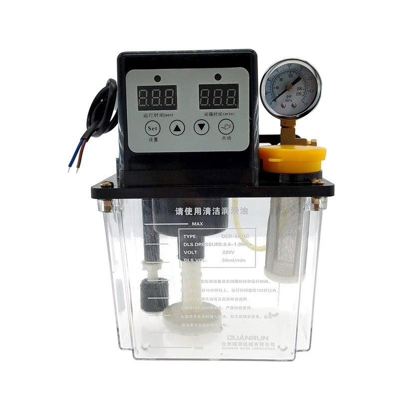 1 шт. 1Л смазочный насос автоматический смазочный масляный насос с ЧПУ электромагнитный смазочный насос смазка