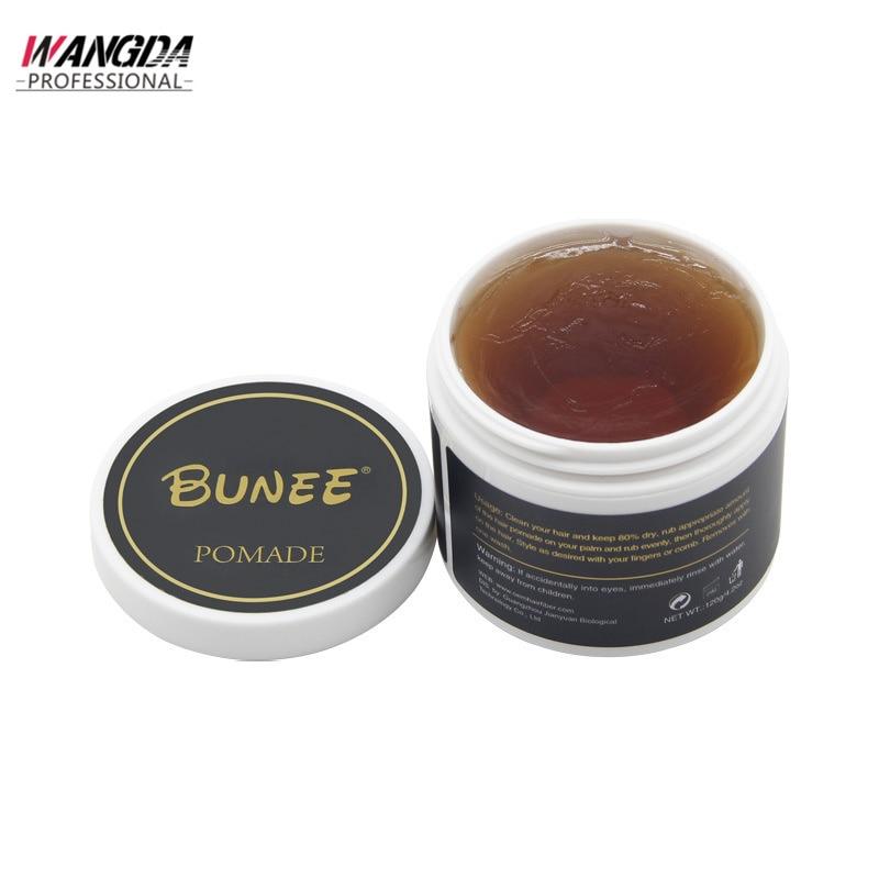 Bottled 100ML Long Lasting Moisturizing Hair Wax Retro Hair Styling Mud Matte Styling Mud Fluffy Hair Mud Hair Care Cream