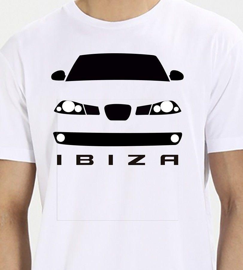 2018 mode été t-shirt hommes Seat Ibiza Mk3 6L t-shirts décontracté manches courtes 016122