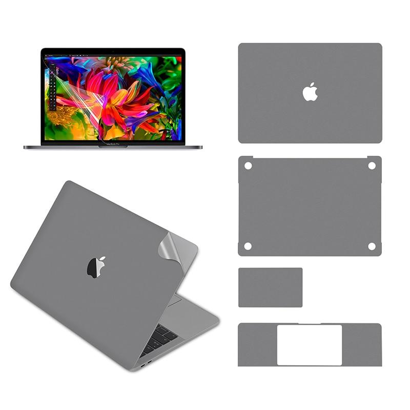 Lention-غطاء واقي كامل للجسم لجهاز MacBook Pro ، ملصق فينيل ، 13 بوصة ، 2016-2019 ، مع 3 منافذ Thunderbolt