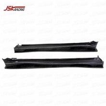 2009 Ver Va Stijl Half Carbon Fiber Side Rokken En Underboard Voor Evolution Evo 10(JSKMSEV08064)