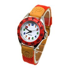 Cute Boys Girls Quartz Watch Kids Children's Fabric Strap Student Time Clock Wristwatch Gifts New Ar