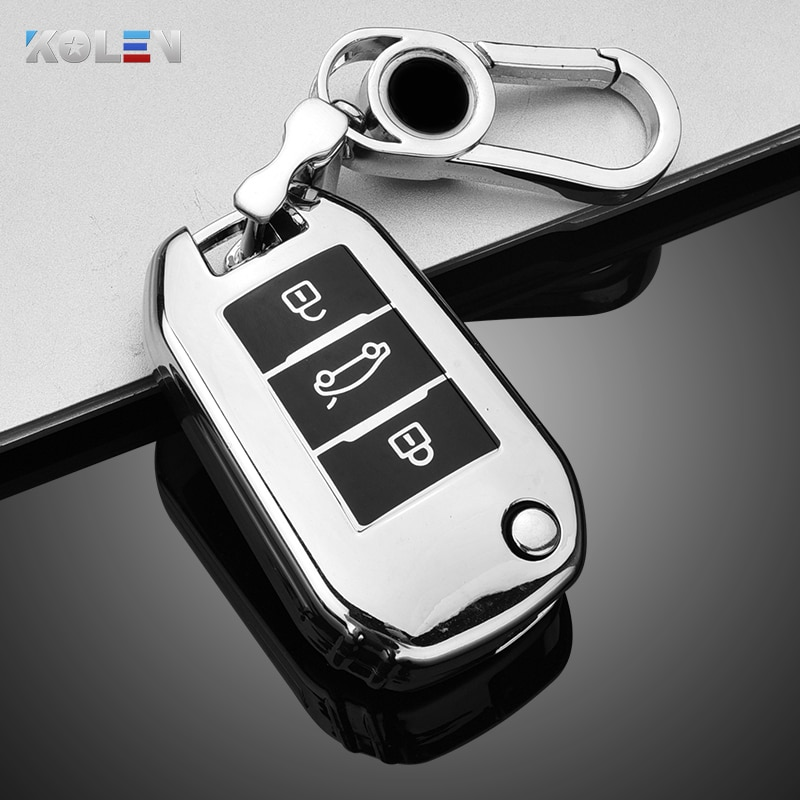 2 buttons silicone car key case cover flip remote car key holder shell fob for citroen c2 c3 c4 c8 peugeot 308 207 307 3008 5008 Soft TPU Car Remote Key Case Cover Shell Fob For Citroen C3 C4 C5 C6 CACTUS Picasso Xsara For Peugeot 308 3008 508 208 408 307