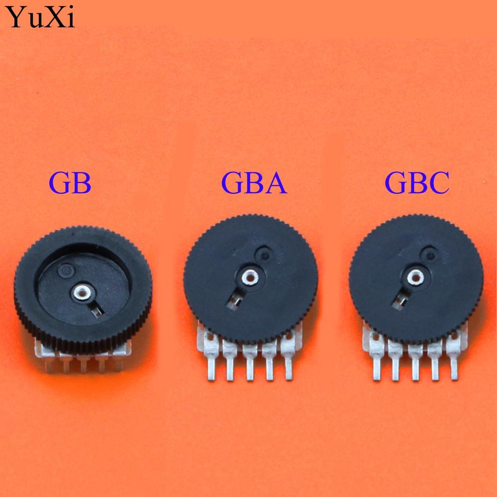 YuXi interruptor de volumen de reemplazo para Nintend para Game Boy GB GBA GBC potenciómetro de la placa base