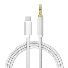 Car accessories USBAux audio cable  type C to 3.5mm jack adapter cable speaker type C to 3.5 volt C