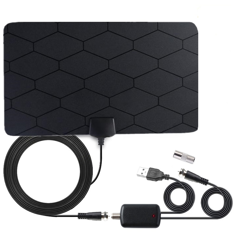 HDTV antenna Digital Antenna TV receiver indoor 3000 miles with Amplifier Booster DVB-T2 isdb-tb Satellite receiver clear Aerial