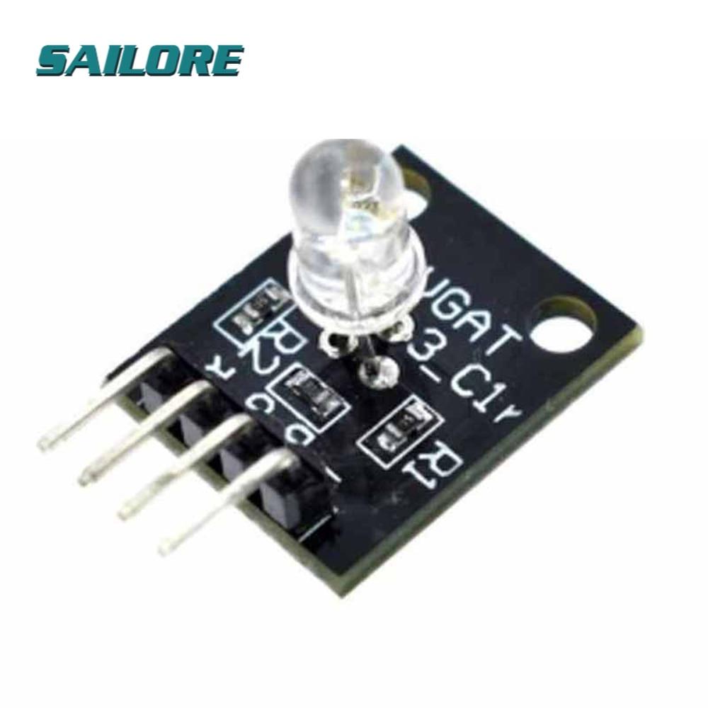 Smart Electronics 4pin RGB Module KY-016 Three Colors 3 Color RGB LED Sensor Module for Arduino DIY Starter Kit KY016