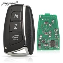 jingyuqin 5pcs Remote Smart Car Key 433MHz ID46 Chip for HYUNDAI Santa Fe IX45 Vehicle Control 95440-2W600
