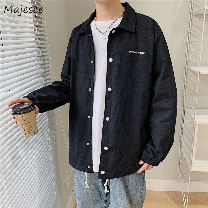 Jaqueta masculina streetwear carta plus size todos os homens combinar jaquetas e casacos preto longo casaco único breasted casual harajuku roupas