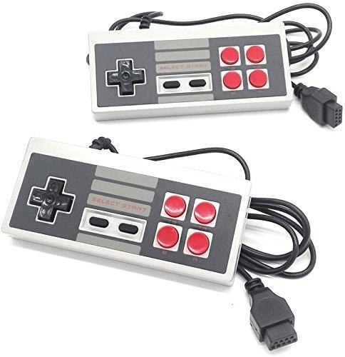Joystick controlador de juego de 8 bits 2 uds para NES JoyStickfor NES NTSC para Coolbaby HDMI/AV 600 500 juegos