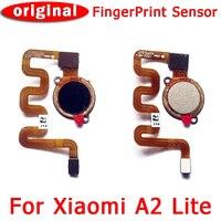 Original for Xiaomi A2 lite Fingerprint sensor flex cable for Redmi 6 pro replacement Spare Repair Parts