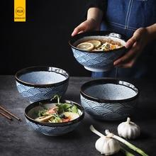 RUX WORKSHOP Japanese ceramic rice bowl Ramen bowl salad Noodle soup bowl Restaurant kitchen tableware Home Decoration