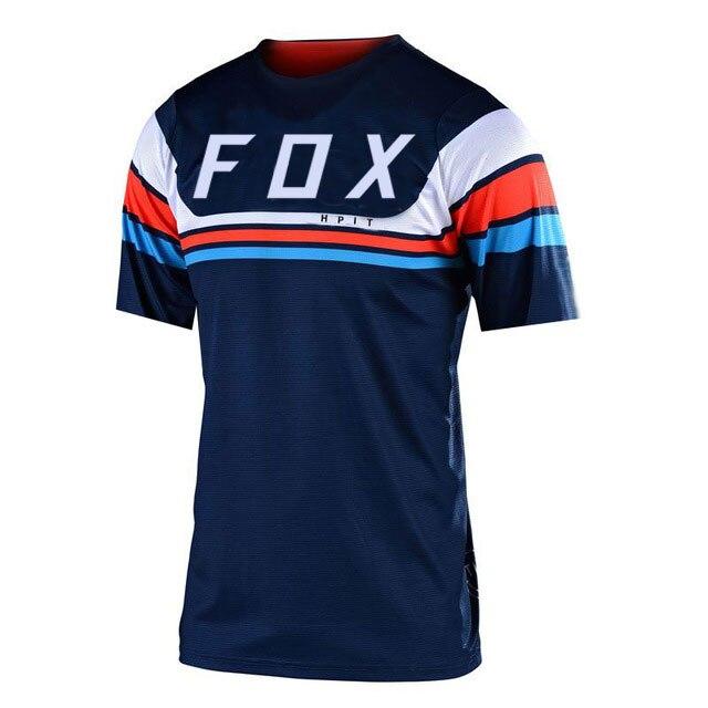 2021 camiseta de Motocross Jersey para descensos MX camiseta de montaña de...