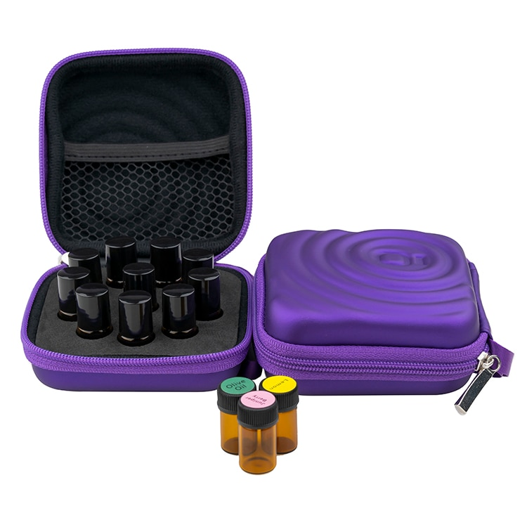 Essential Oil Case for DoTERRA Carrying Storage Bag 1-3ML Essential Oil Travel Storage Bag Portable Perfume Hanging Organizer