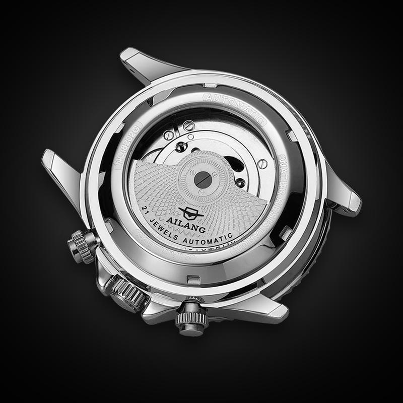 Ailang genuine multi-function men's watch hollow mechanical watch automatic luminous waterproof tide brand men's watch enlarge