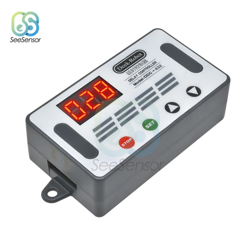 DDC-432 Dual MOS LED Digital Delay Controller Time Delay Relay Trigger Cycle Timer Delay Switch Timi