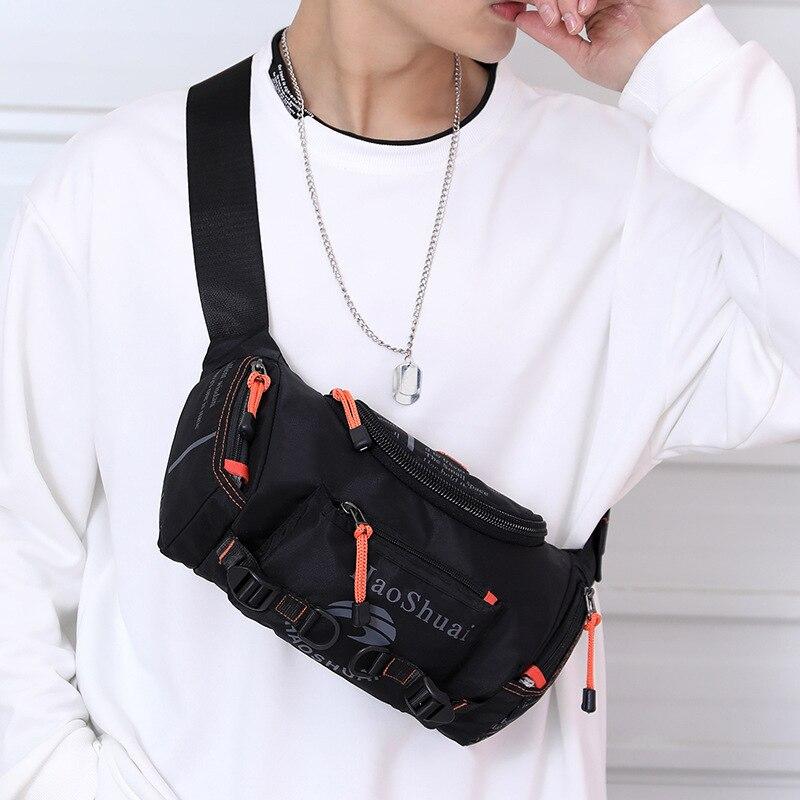 Bolso de hombro impermeable para pecho, mochila para montar, senderismo, Running masivo, riñonera para teléfono, bolsa de pecho, cangurera para la cintura
