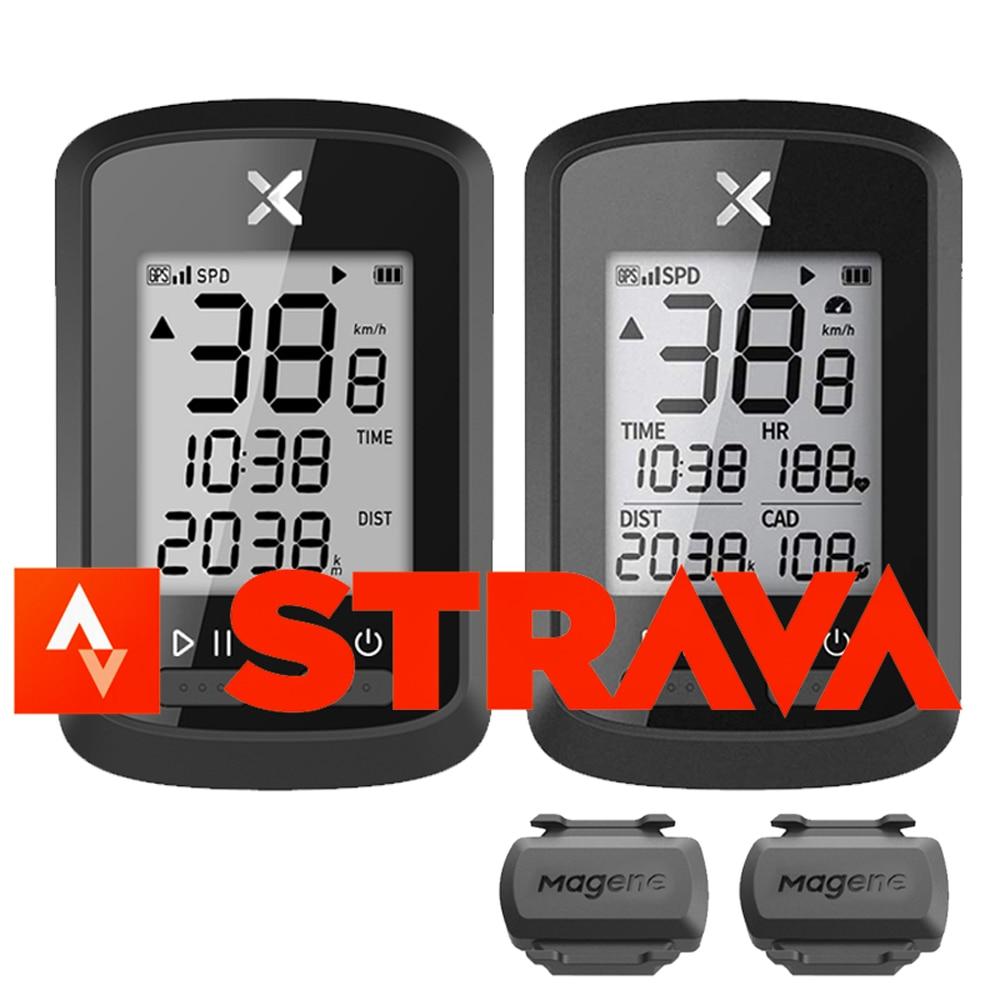 Bicicleta XOSS, ordenador G plus, velocímetro GPS inalámbrico, impermeable, bicicleta de carretera, bicicleta Bluetooth ANT + Magen Cadence, Ordenador de ciclismo