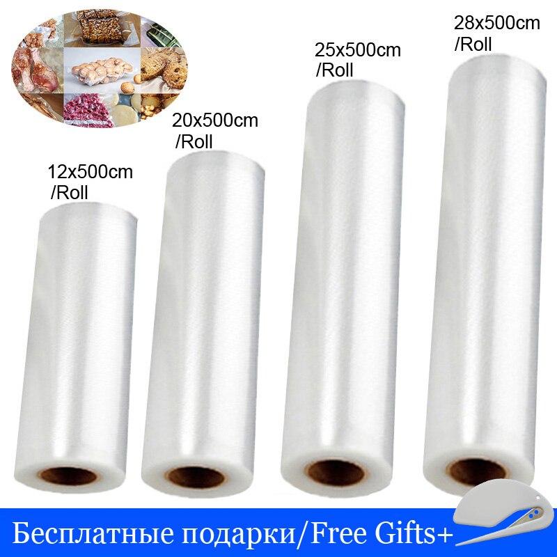 Вакуумный упаковщик, пакеты для кухонной упаковки, вакуумный пакет, упаковочная машина, пластиковый Вакуумный пакет для хранения, 12 + 20 + 25 + 28...