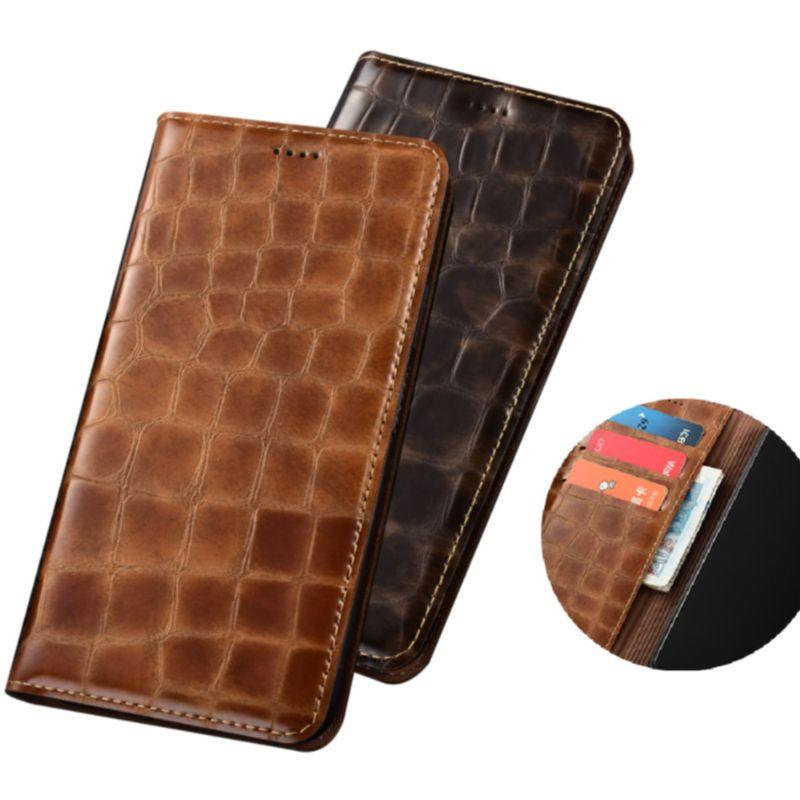 محفظة فاخرة من الجلد الطبيعي لهاتف Motorola ، جراب هاتف مزود بجيب للبطاقات ، لهاتف Moto G9 Plus ، Moto G9 Play ، Moto G9