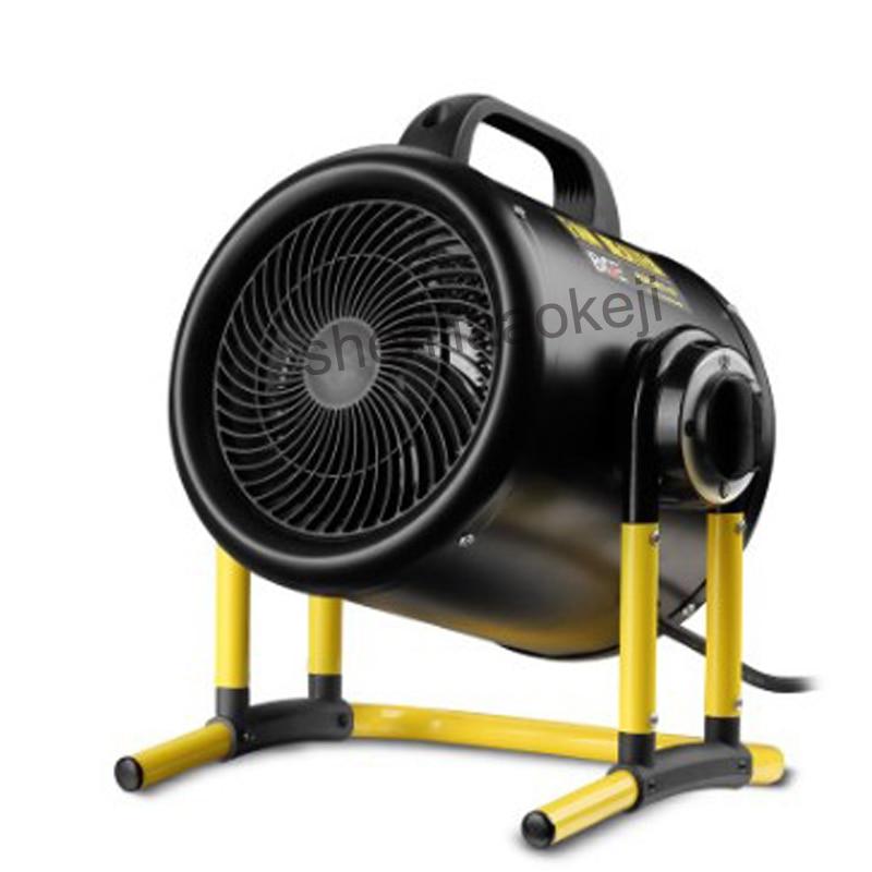Высокомощный нагреватель 3 кВт промышленные электрические обогреватели Тепловая мастерская чистая кафе высокомощный нагреватель теплый в...