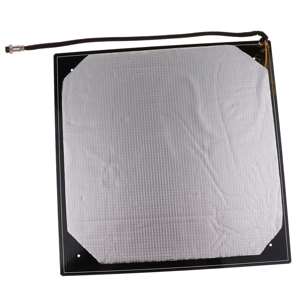 Aluminium MK3 Heat Bed 12V Heatbed 400x400mm For Creality CR-10 S4 Printers