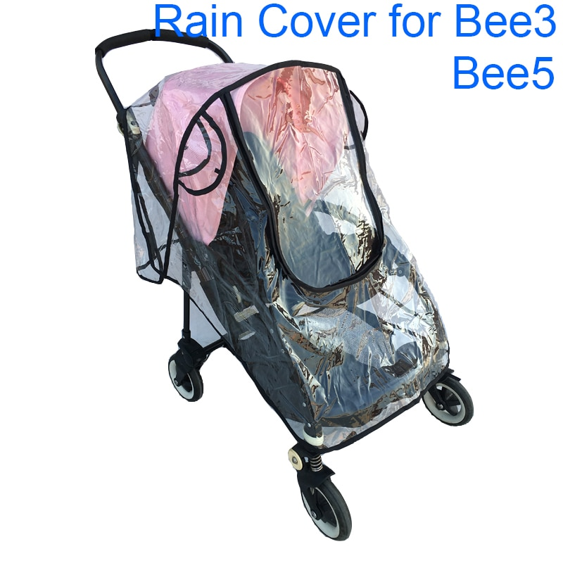 Impermeable cubierta de parabrisas para la lluvia para Bugaboo Bee 5 cochecito Carro de polvo impermeable Bugaboo Bee 3 Bee5