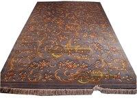 3d carpetsavonnerie rug for living room luxury Plush French Oriental Hand Curtains Luxury savonneriefor carpet