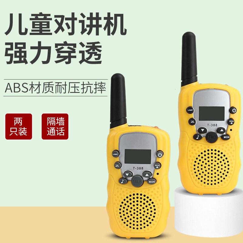 Mini Children's Walkie-talkie T-388 Handheld Wireless Communication Toy Parent-child Interaction Outdoor Play Walkie-talkie