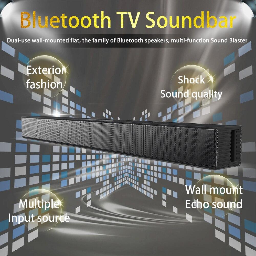 40 واط تلفزيون كومبيوتر سمّاعات بلوتوث الحائط مكبرات الصوت مسرح منزلي HIFI مضخم صوت ستيريو صندوق الصوت يدعم الألياف المحورية HDMI