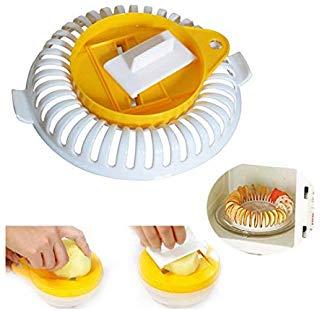 DIY низкокалорийные микроволновые печи жировые картофельные чипсы, яблоко, фрукты, картофельные хрустящие чипсы, овощерезка, набор для приготовления закусок, кухонный инструмент