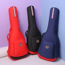 Student Guitar Bag 40/41 Inch Folk Guitar Bag Thickened Backpack Piano Cover College Style Guitar Ac