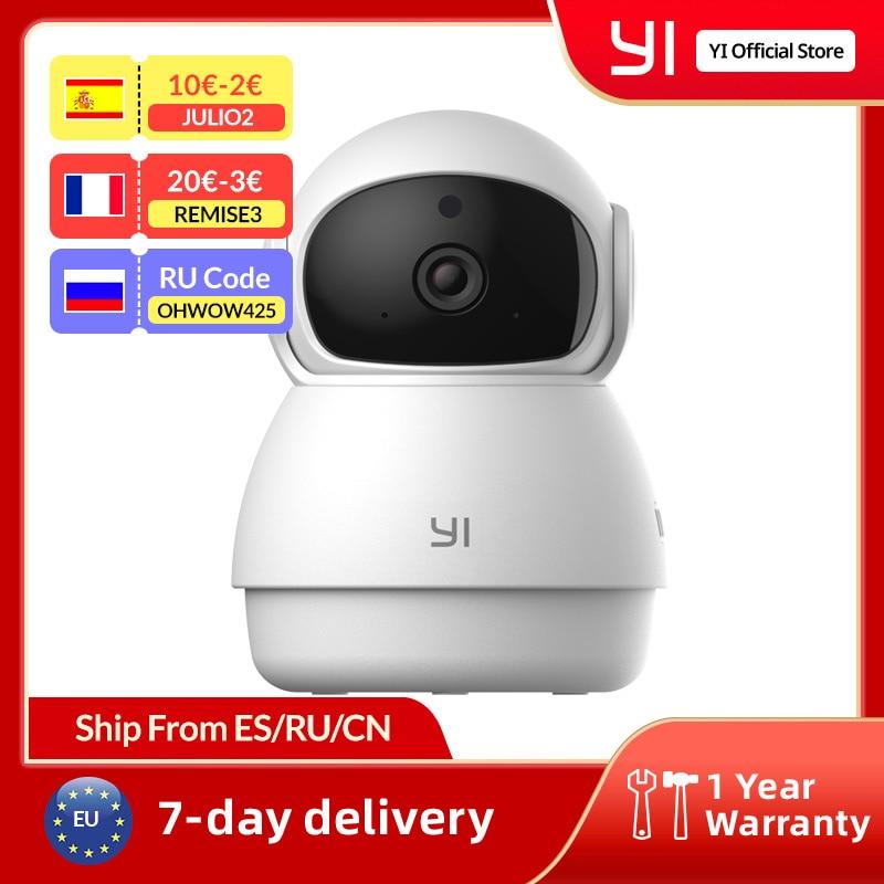 يي قبة الحرس كاميرا 1080p واي فاي كاميرا الإنسان الحيوانات الأليفة AI كاميرا ويب Ip كاميرا الأمن المنزل داخلي كام عموم و إمالة 360 مسجل فيديو كام