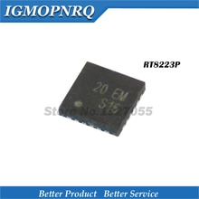 5 stück RT8223PGQW RT8223PZQW RT8223P 20 = EL 20 = DF 20 = FF 20 .. QFN laptop chip neue