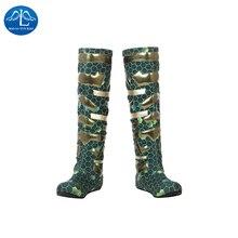 Manluyunxiao Aquaman Atlantis reine Mera Cosplay chaussures ligue de Justice Super héros série Mera cosplay bottes sur mesure