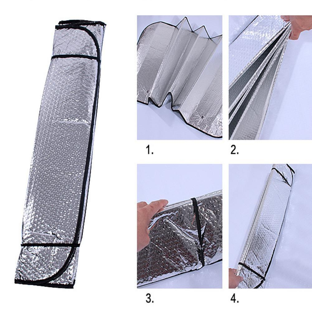 Universal Car Window Sunshade Sun Shade Visor Windshield Sun Front Ice Rear Shades I4V2 Car C UV Anti Protected Accessories L4K3
