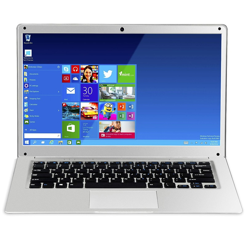 Factory directly Ultra thin Full Metal case 14.1inch Full HD LED screen Intel N3450 6g ram 64g rom laptop with windows 10 os