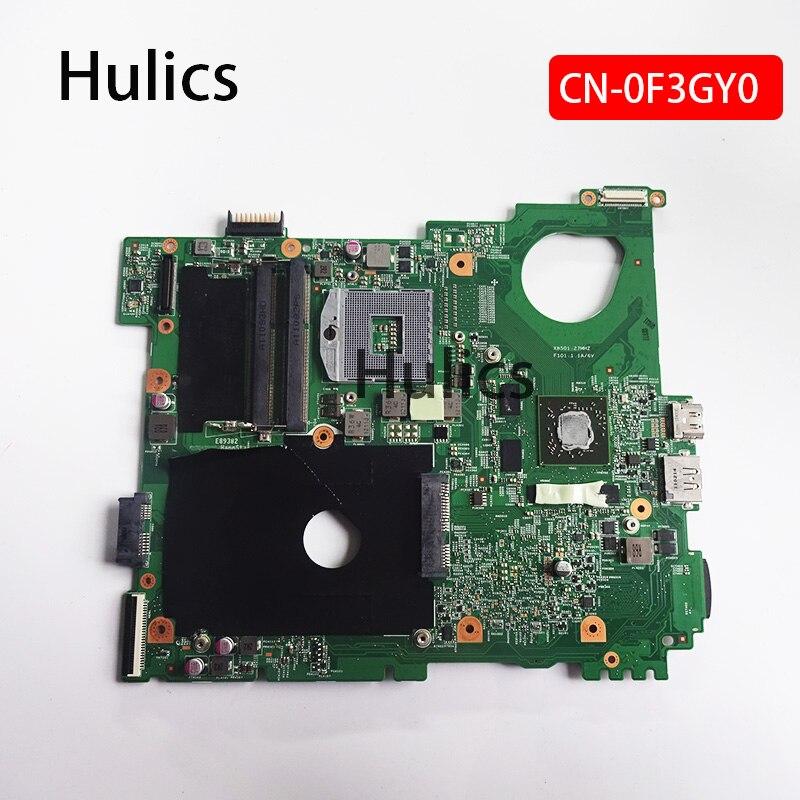 Hulics الأصلي CN-0F3GY0 0F3GY0 F3GY0 اللوحة المحمول لديل Vostro 3550 V3550 HM67 10245-1 48.4IE01.011 DDR3 اللوحة