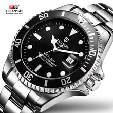 TEVISE Men's Mechanical Watches Brand Luxury Automatic Watch Men Waterproof Wristwatch male Clock re