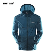 NANCY TINO Sun Protection Jacket Unisex Summer Outdoor Skin Windbreaker Quick Dry Fishing Ultra-thin