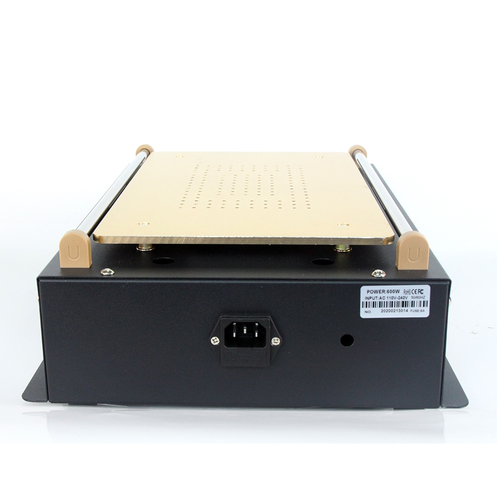 UYUE 968 LCD Separator Split Screen Repair Build-in Vacuum Pump for Touch Screen 2 in 1 14 Inch Tools Box Professional enlarge