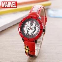 2021 disney marvel iron man childrens smart wrist digital waterproof electronic watch childrens electronic clock girls