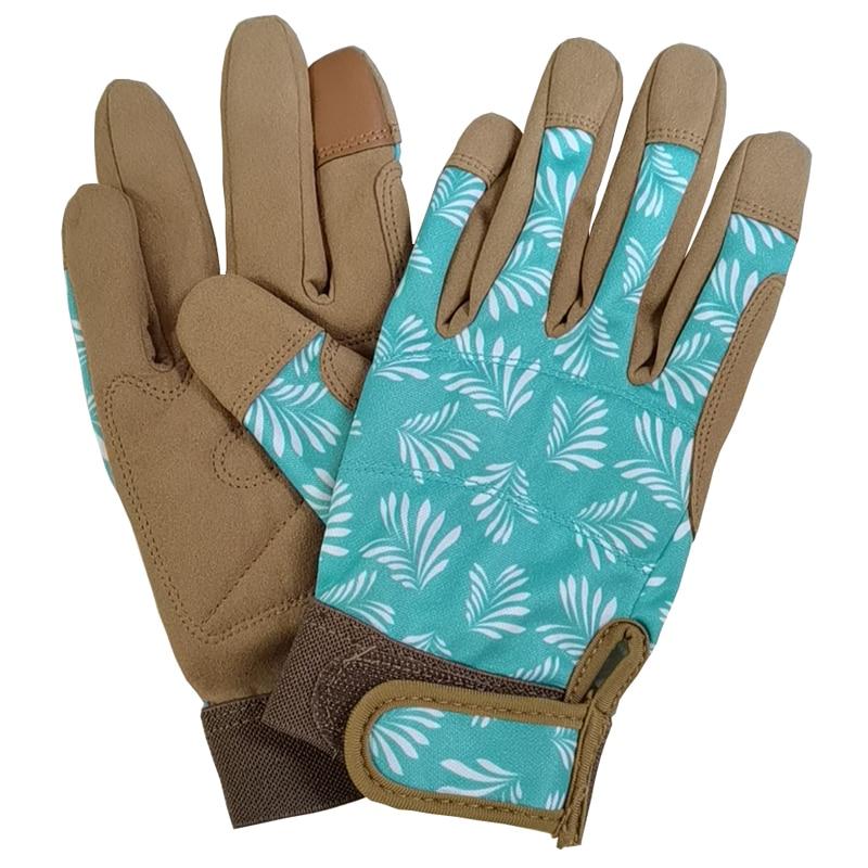 1 Pair Touch Screen Women Professional Gardening Work Thorn Proof Flower Planting Yard Work Garden Gloves