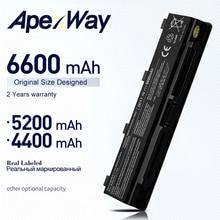 ApexWay Batterie Für Toshiba Satellite l805D L830 L830D L835 L835D L840 L840D L845 L855 L870 L870D L875 L875D M800 M800D m801