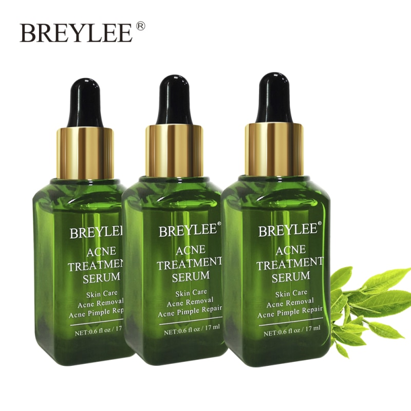 BREYLEE Facial Acne Treatment Serum Face Scar Pimple Removal Whitening Acne Remove acne Skin health