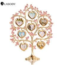 Family Tree photo frame 8 Immagine Doro Famiglia Cornice Regalo Casa Arredamento con il contenitore di regalo