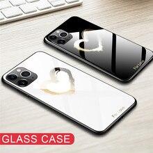 Coque de téléphone en verre trempé pour Xiaomi Redmi K20 7A Note 5 6 7 Pro Mi Mix 3 9T Pro 8 9 5X Pocophone F1 vitrail étui en verre de luxe