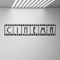 Affiche murale de Film de cinema  autocollante  bande en vinyle  decoration pour maison  S3