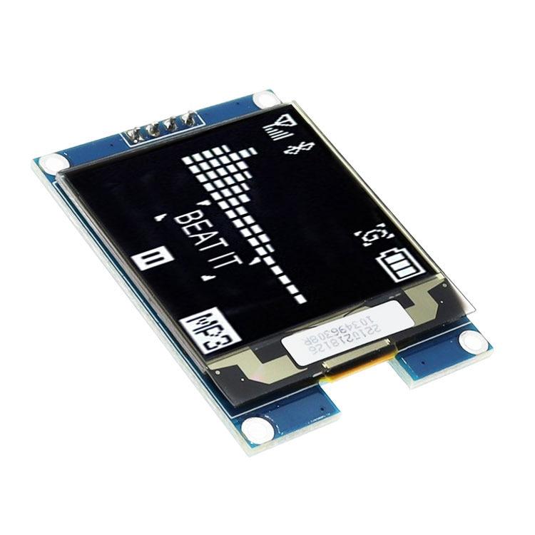 1.5 inch Oled LCD Display IIC Serial White OLED Display Module 128X128 I2C 1.5inch SSD1327 128128 LCD Screen Board For Arduino недорого